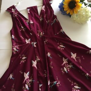Anmol bird dress size 12 US or 16 UK